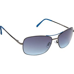 Metal With Epoxy Detail Sunglasses