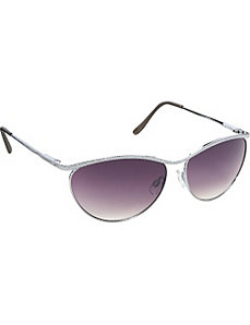 Metal Cateye Sunglasses by Steve Madden Sunwear