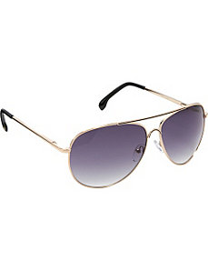 Colored Epoxy Aviator Sunglasses by Jessica Simpson Sunwear