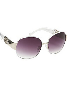 Oversized Round Sunglasses by Jessica Simpson Sunwear