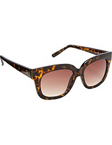 Retro Plastic Sunglasses by Jessica Simpson Sunwear