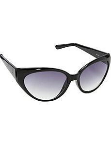 Plastic Cat Eye Sunglasses by Jessica Simpson Sunwear