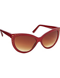 Glamour Cat Eye Sunglasses by Jessica Simpson Sunwear