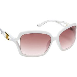Oversized Rectangular Plastic Sunglasses