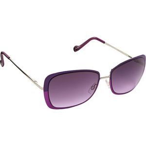 Retro Color Blocked Sunglasses