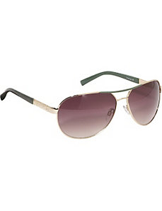 Animal Print Aviator Sunglasses by Rocawear Sunwear