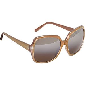 Incandescent Oversized Rectangular Sunglasses