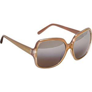 Incandescent Oversized Rectangular Sunglasses