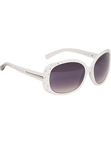 Stone Embellished Glam Sunglasses by Rocawear Sunwear