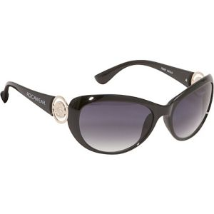 Oval Plastic Sunglasses