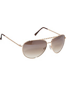 Twisted Metal Aviator Sunglasses by Rocawear Sunwear