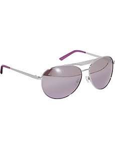 Metal Detail Aviator Sunglasses by Rocawear Sunwear