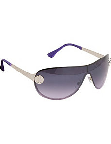 Back Frame Shield Sunglasses by Rocawear Sunwear