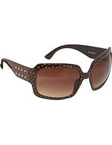 Rectangular Stud Detail Sunglasses by Rocawear Sunwear