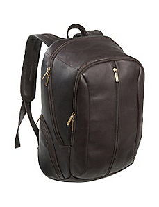 17' Laptop Back Pack by Le Donne Leather
