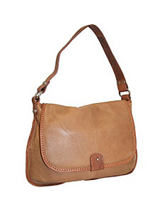 Shoulder Bag with Flap by Nino Bossi