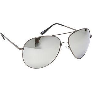 Fashion Oversized Aviator Sunglasses Mirror Reflec