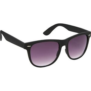Wayfarer Sunglasses Black Special Rubber Touch Fin