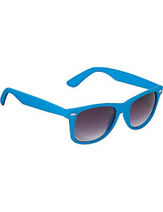 Wayfarer Sunglasses Blue Special Rubber Touch Fini by SW Global Sunglasses