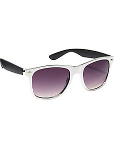 Stylish  Wayfarer Sunglasses in Rubber Soft Touch by SW Global Sunglasses