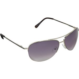 Pilot Fashion Aviator Sunglasses in Semi-Rimless D