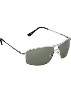 Rectangle Metal Sunglasses by SW Global Sunglasses