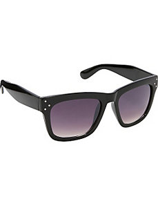 Wayfarer Fashion Sunglasses with Stunning 3 Dots by SW Global Sunglasses