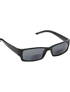 Rectangle Fashion Sunglasses Black with Vision Pow by SW Global Sunglasses