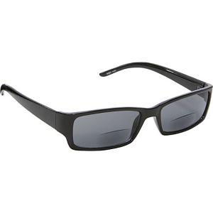 Rectangle Fashion Sunglasses Black with Vision Pow