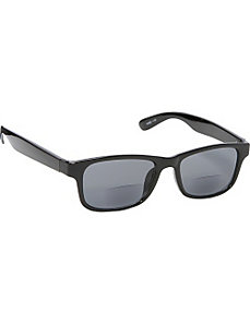 Square Fashion Sunglasses Black with Vision Power by SW Global Sunglasses