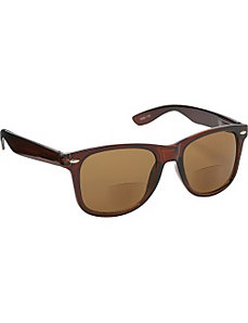 Wayfarer Fashion Sunglasses Brown with Vision Powe by SW Global Sunglasses