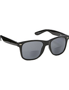 Wayfarer Fashion Sunglasses Black with Vision Powe by SW Global Sunglasses
