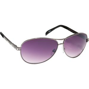 Stunning Pilot Aviator Sunglasses in Crystal Rhine