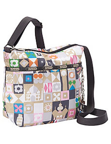 Small Cleo Crossbody w/ Charm by LeSportsac