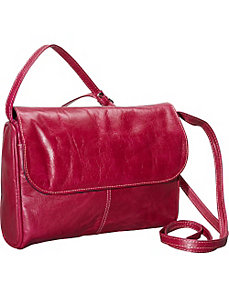 Florentine Flap Front Handbag by David King & Co.