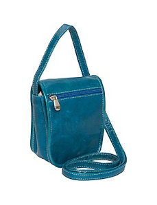 Florentine Small Flap Over w/ Front Zip by David King & Co.