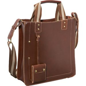 Legacy Leather Magazine Tote