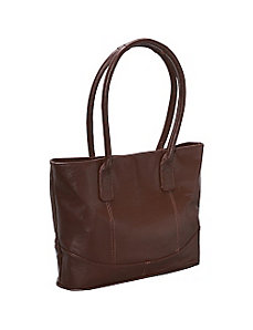 Casual Leather Tote by AmeriLeather