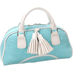 Fresh Air Novetly Fabric Satchel Handbag Purse