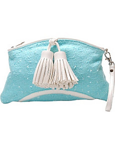 Fresh Air Novelty Fabric Clutch Purse by Flying Daisies