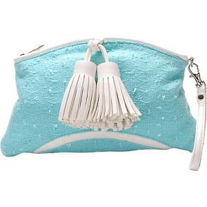 Fresh Air Novelty Fabric Clutch Purse