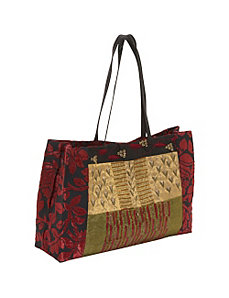 Tote Large Patchwork With Tissue by Moyna Handbags