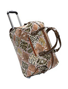 Jungle Fever Rolling Duffel by Mellow World