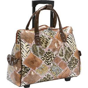 Jungle Fever Rolling Laptop Tote