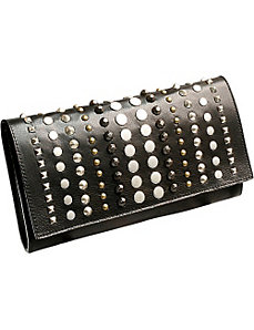 Mixed Stud Clutch by Leatherock
