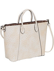 Ostrich Large Tote by Sydney Love