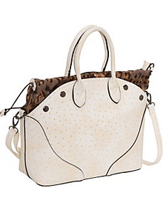 Ostrich Small Tote by Sydney Love
