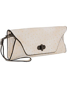 Ostrich Clutch by Sydney Love