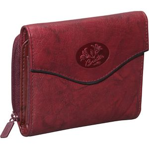 Heiress Leather Zip Purse
