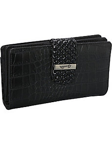 Croco Super Wallet by Buxton